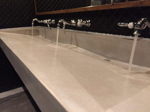 Unique Trough Sink Designs