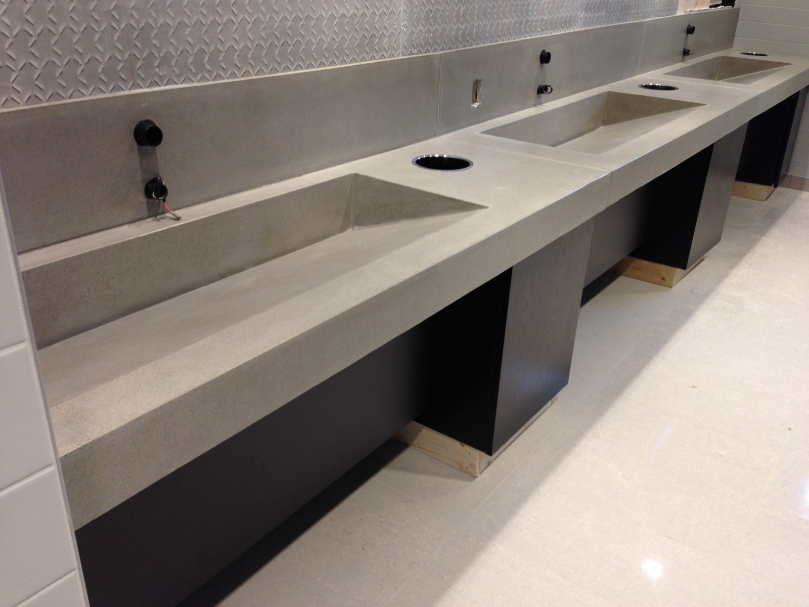 Triple Ramp Troughs
