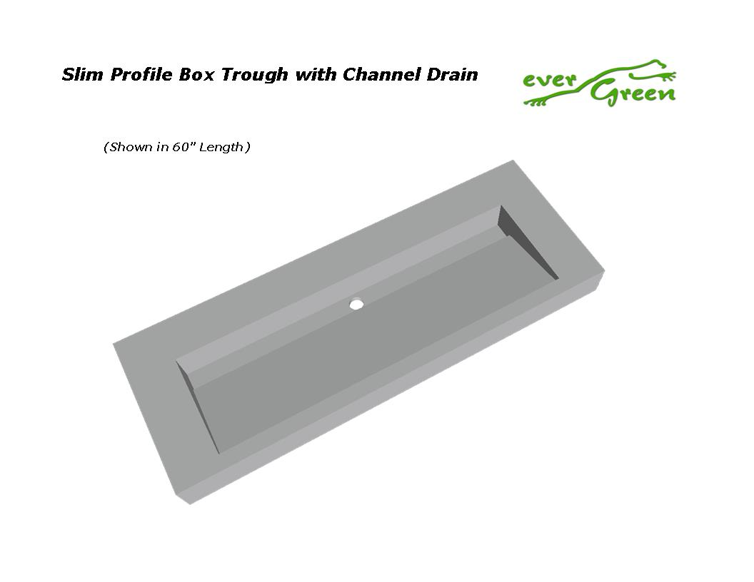 Slim Profile Ramp with Channel Drain