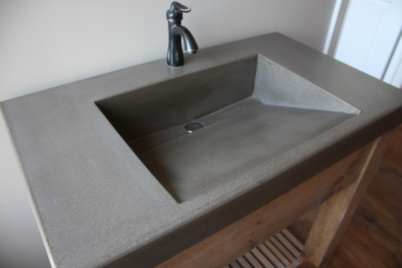 cement bathroom sinks other concrete sink designs archives evergreen cast 12257