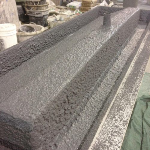 Decorative Concrete Sink Fabrication